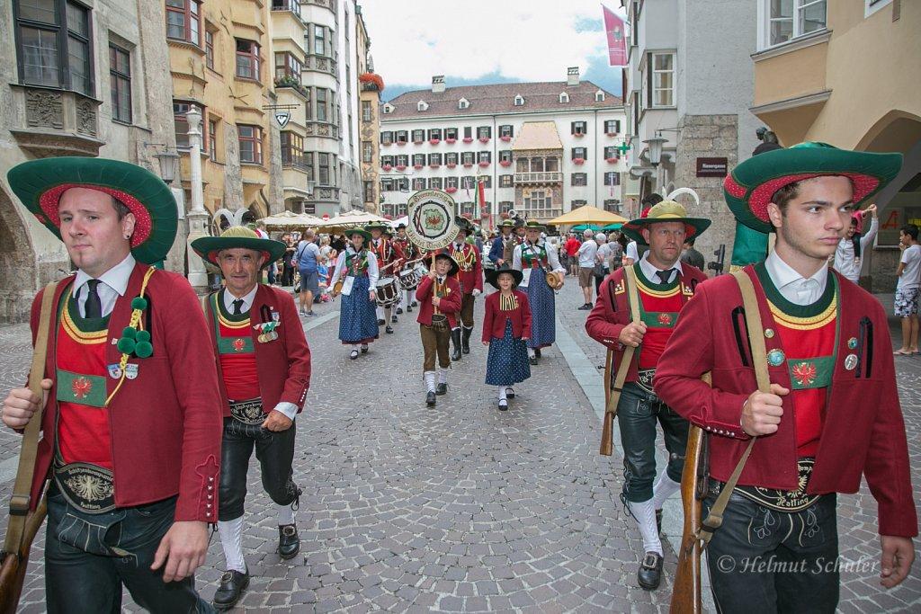 Bataillonsschützenfest in Innsbruck - 28.07.2019