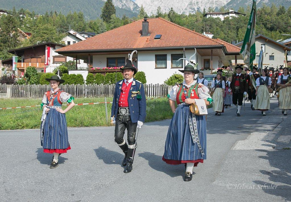 Fest des Schützenbataillons Starkenberg in Tarrenz - 25.08.2019
